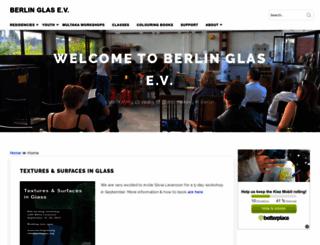 berlinglas.org screenshot