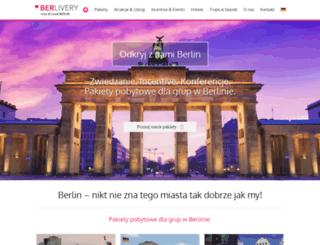 berlivery.com screenshot