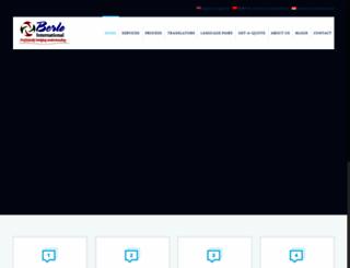 berlotranslations.com screenshot