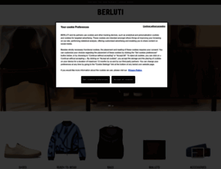 berluti.com screenshot