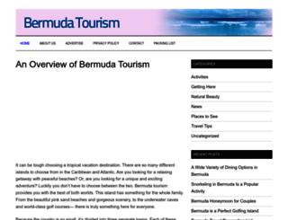 bermudatourism.org screenshot