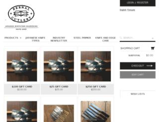 bernalcutlery.lightspeedwebstore.com screenshot