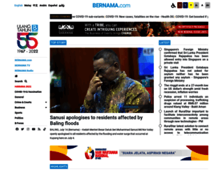 bernama.com screenshot