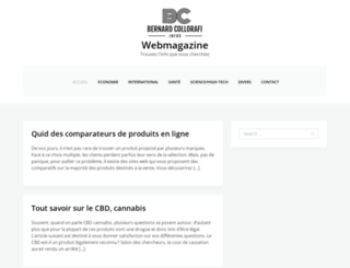 bernardcollorafi.com screenshot