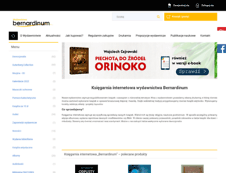 bernardinum.com.pl screenshot