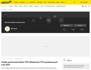 bernardo.salon24.pl screenshot