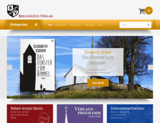bernardus-verlag.de screenshot