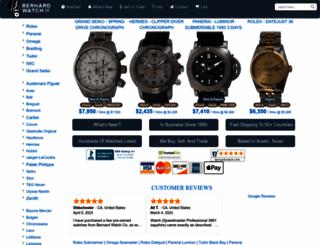 bernardwatch.com screenshot