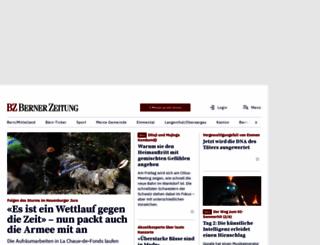 bernerzeitung.ch screenshot