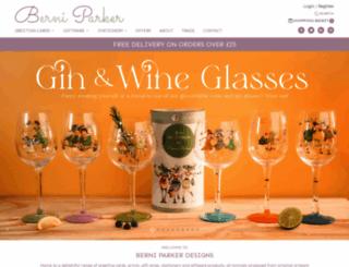 berniparkerdesigns.com screenshot