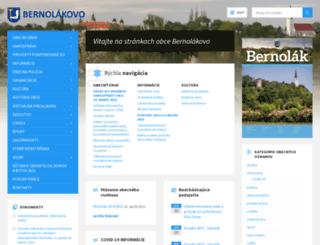 bernolakovo.sk screenshot