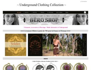 bero-shop.com screenshot