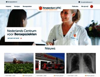 beroepsziekten.nl screenshot