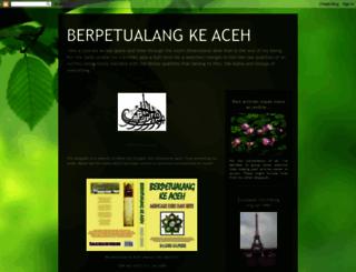 berpetualangkeaceh.blogspot.mx screenshot