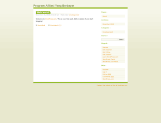 berpromosidapatmodal.wordpress.com screenshot