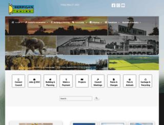 berriganshire.nsw.gov.au screenshot