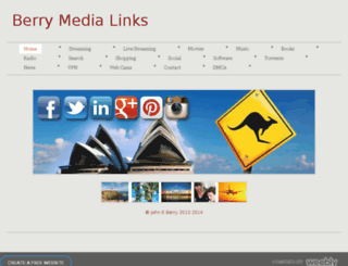 berrymedialinks.weebly.com screenshot