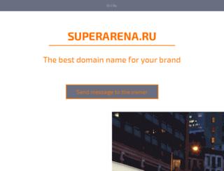 bersikap.superarena.ru screenshot