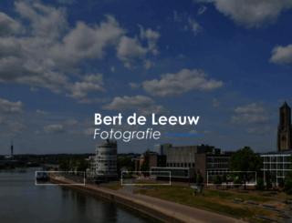 bertdeleeuwfotografie.nl screenshot