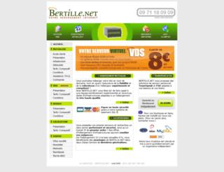 bertille.org screenshot