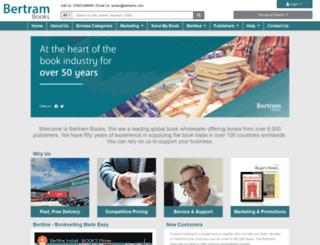bertrams.com screenshot