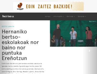 bertsoa.com screenshot