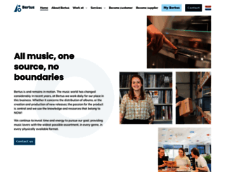 bertus.com screenshot