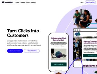 bertus.leadpages.net screenshot