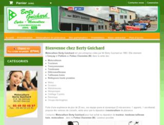 bertyguichard.com screenshot