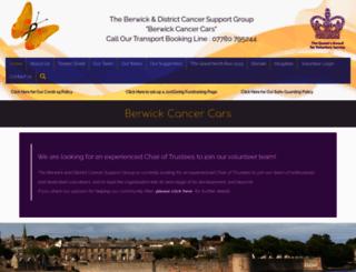 berwickcancersupport.co.uk screenshot