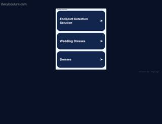 berylcouture.com screenshot