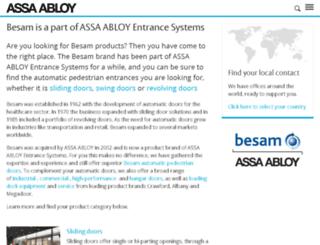 besam.com screenshot