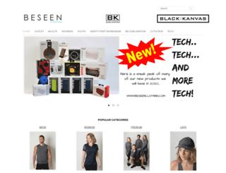 beseenclothing.com screenshot