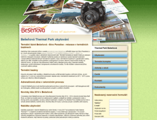 besenova-thermal-park.com screenshot