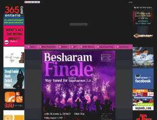 besharam.ca screenshot