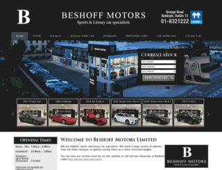 beshoffmotors.ie screenshot