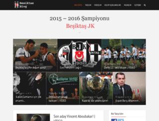 besiktasblog.com screenshot