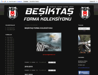 besiktasforma.blogspot.com.tr screenshot