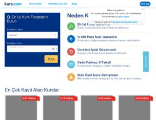besiktassanat.kurs.com screenshot