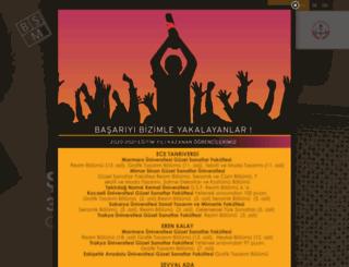 besiktassanatmerkezi.com screenshot