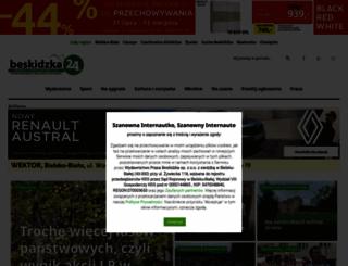 beskidzka24.pl screenshot