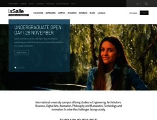 beslasalle.salleurl.edu screenshot
