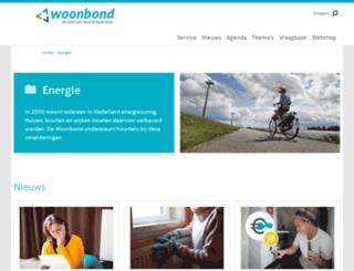 bespaarenergiemetdewoonbond.nl screenshot