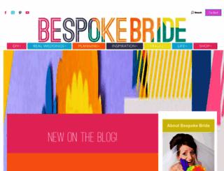 bespoke-bride.com screenshot