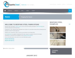 bespoke-steel.com screenshot