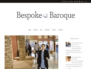 bespokebaroque.blogspot.co.uk screenshot