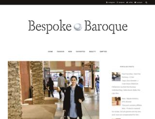 bespokebaroque.blogspot.com screenshot