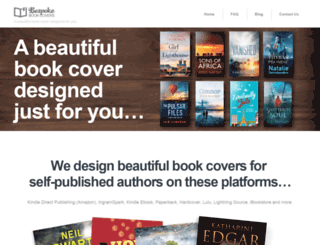 bespokebookcovers.com screenshot