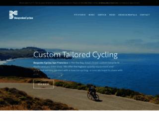 bespokecyclessf.com screenshot