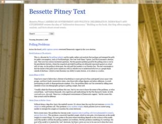 bessettepitney.net screenshot